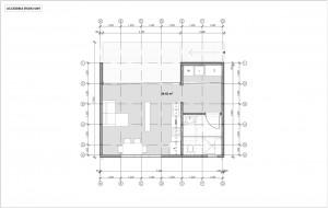 Accessible-Studio Floor Plan